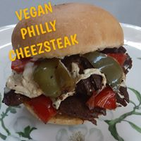 Vegan Philly Cheezesteak Sandwich